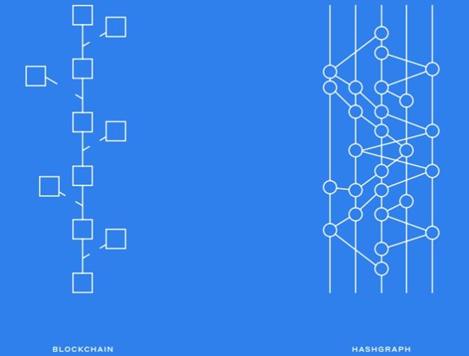 Blockchain and hashgraph comparison